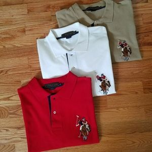 U.S. Polo Assn polo shirts.3 for $25 or 1 for  $10